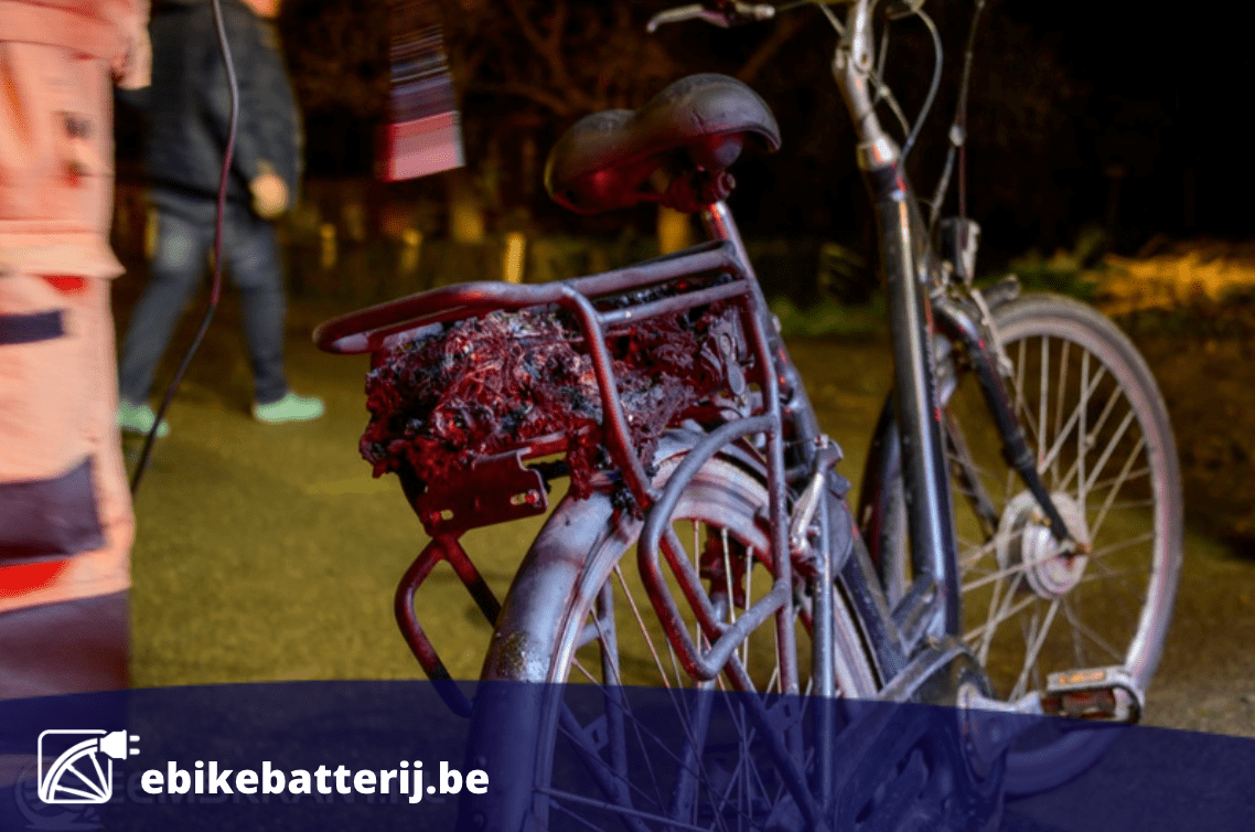 Hoe voorkom ik een fietsbatterij brand?