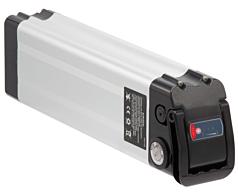 Phylion XH370-12J Silverfish 37V 12Ah compatibel fietsbatterij (zilver)